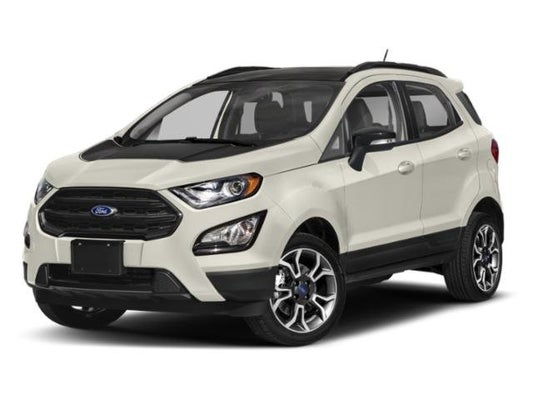 2020 Ford Ecosport Ses In Belfast Me Bangor Ford Ecosport
